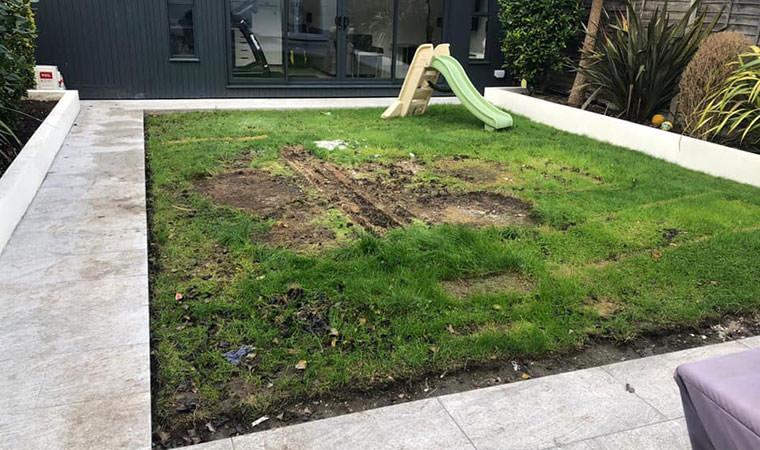 artificial grass installed in Dublin