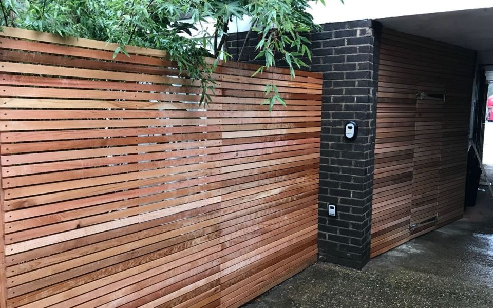 garden fencing in dublin by eco landscapes